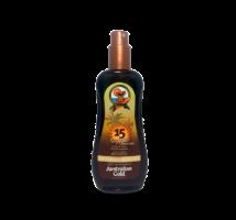 SPF 15 Spray Gel with Bronzer