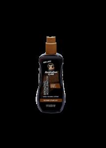 Dark Tanning Accelerator Spray Gel with Instant Bronzer