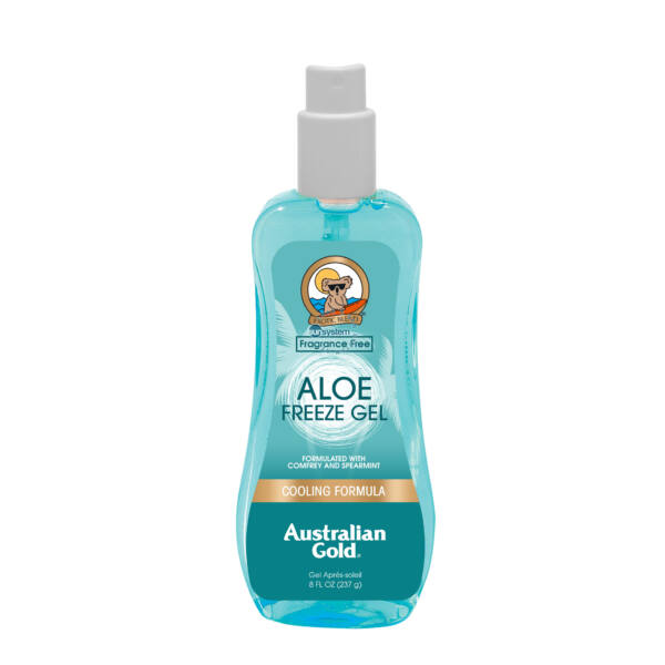 Aloe Freeze Gel Spray Gel