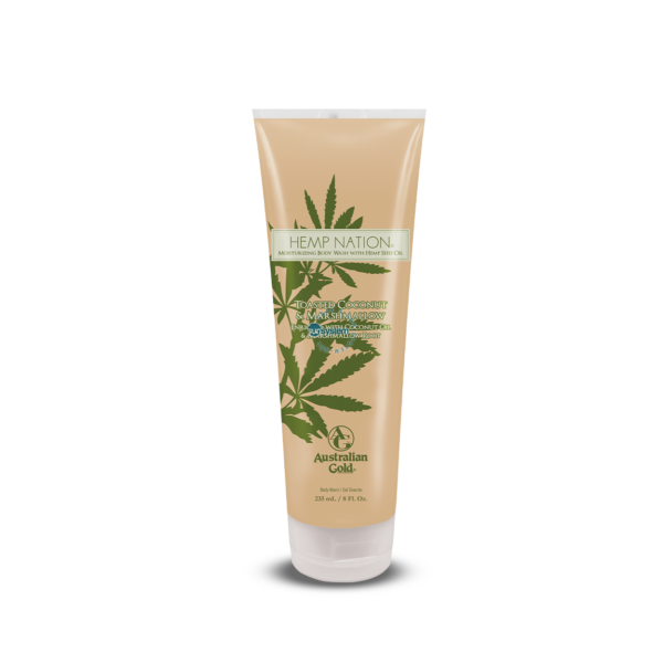Hemp Nation Toasted Coconut & Marshmallow Body Wash