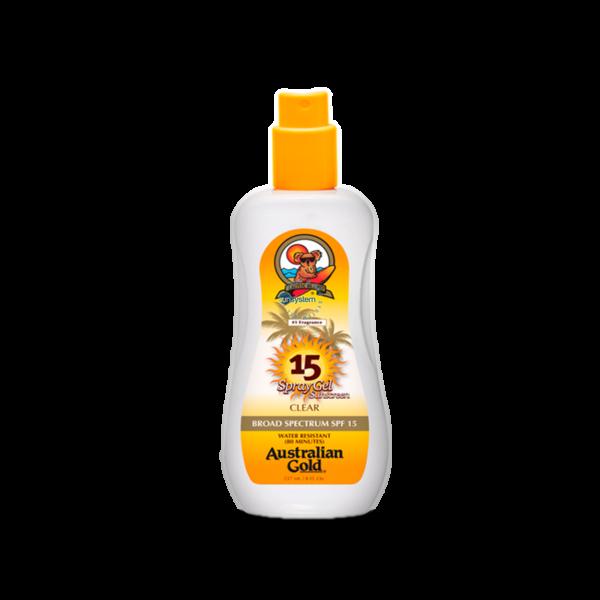 SPF 15 Spray Gel