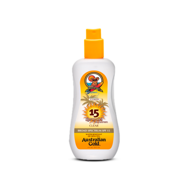 SPF 15 Spray Gel