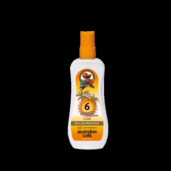SPF 6 Spray Gel