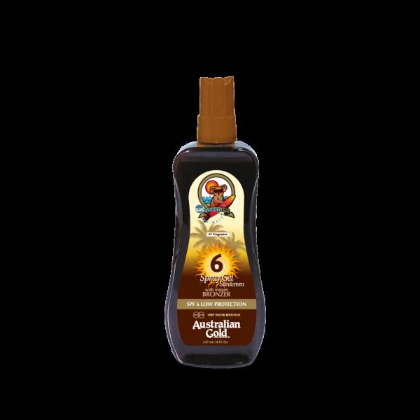 SPF 6 Spray Gel with Bronzer